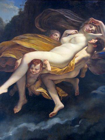 Древнегреческий миф о амуре